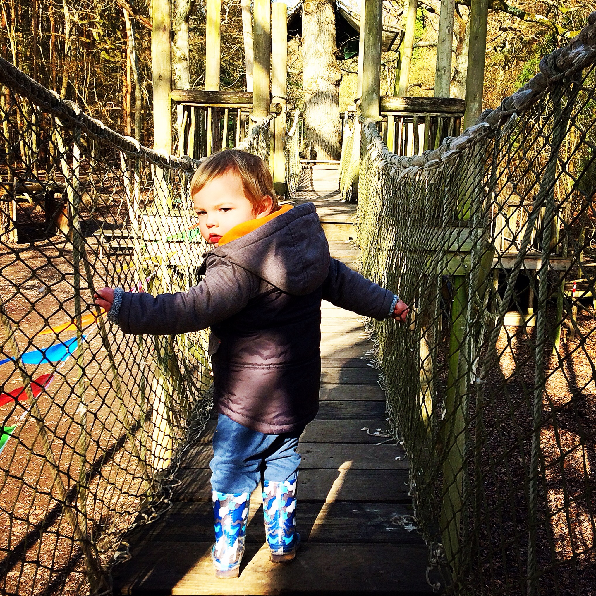 Groombridge Place, Kent, adventure, family, toddler, exploring