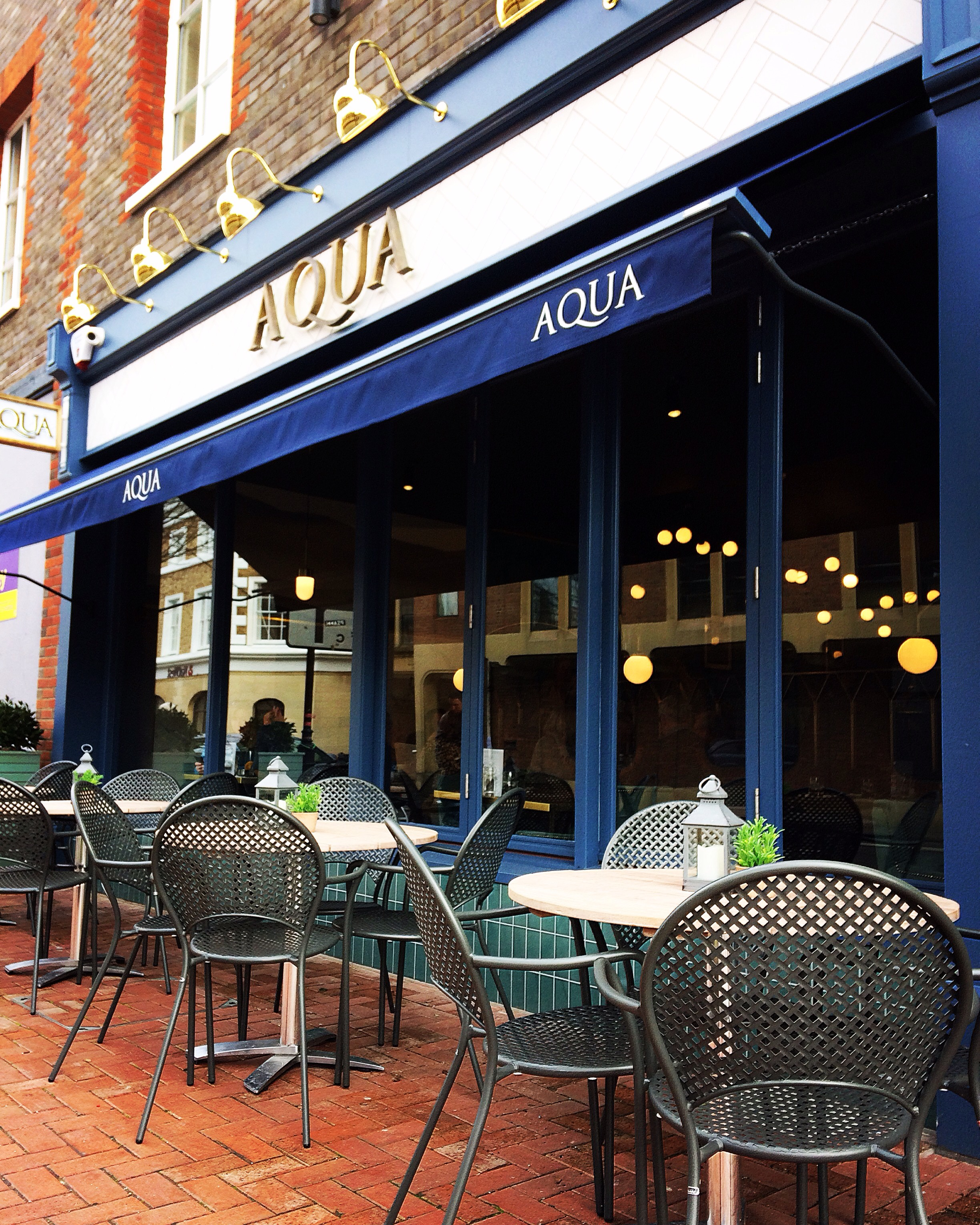 Lewes, Sussex, restaurant, Aqua, Italian