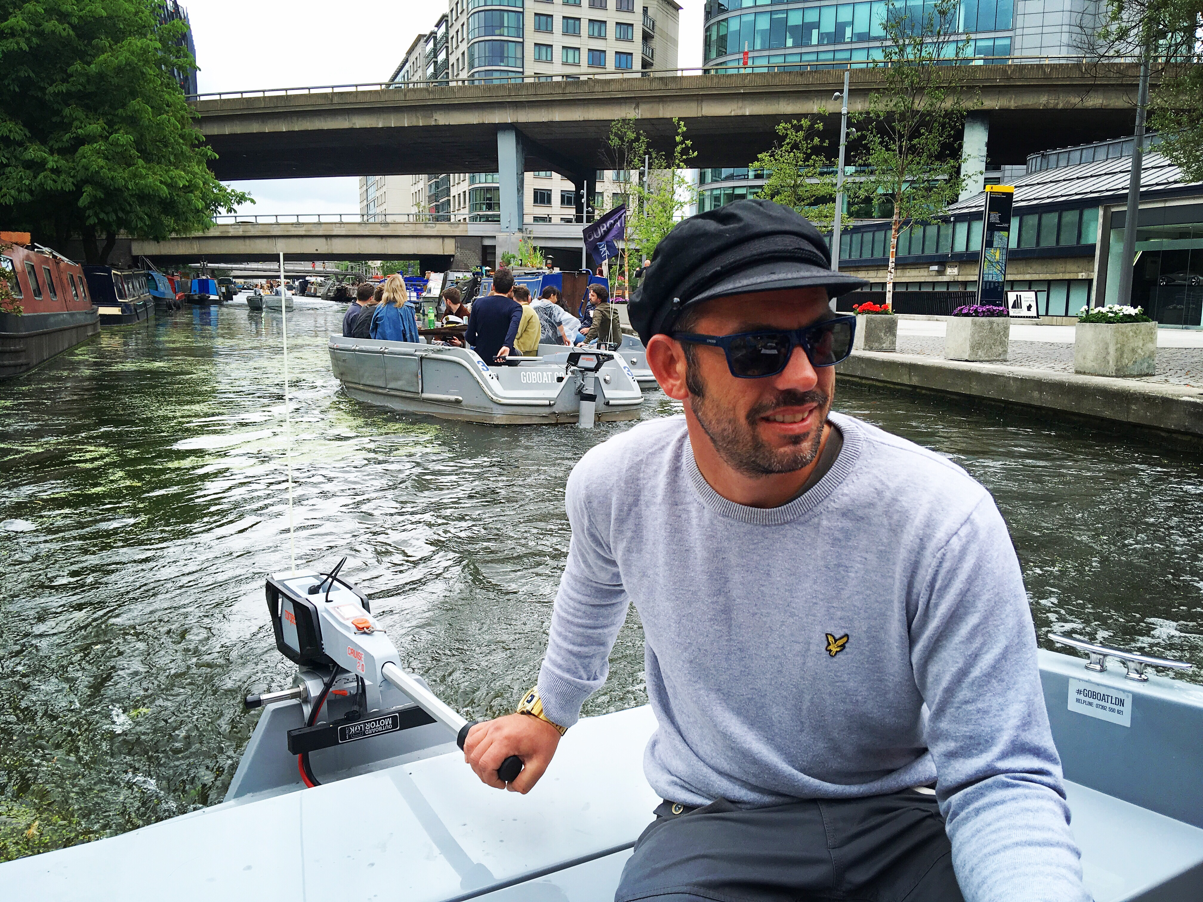 Goboat Paddington Seeing London From A New Perspective Jugglingonrollerskates